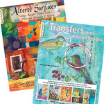Design Originals Altered Surfaces & Transfers Art Books