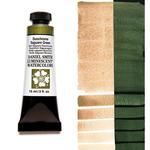 Daniel Smith Extra Fine Watercolors - Duochrome Saguaro Green, 15 ml Tube