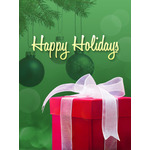 Christmas Art eGift Card - Gift Under Tree - electronic gift card eGift Card