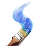 Creative Art eGift Card - Paint It Blue - Electronic Gift Card eGift Card