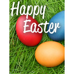 Easter Art eGift Card - Easter Eggs on Grass - electronic gift card eGift Card