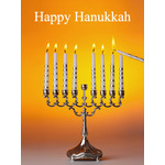 Hanukkah Art eGift Card - Lighting the Menorah - electronic gift card eGift Card