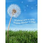 Mother's Day Art eGift Card - Dandelion - electronic gift card eGift Card