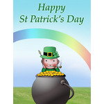 St.Patrick's Day Art eGift Card - Lil Jerry - electronic gift card eGift Card