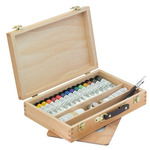 Sennelier Egg Tempera Light Wooden Box Set Of 15 x 21Ml Tubes