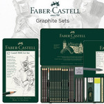Faber-Castell 9000 & PITT Graphite Pencil Sets