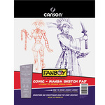 Canson Fanboy Comic-Manga Sketch Pad 8.5x11 (50 Sheets)