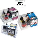 Daler-Rowney FW Acrylic Water-Resistant Artists Ink Sets