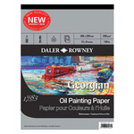 "Daler-Rowney Georgian Oil Painting Pad 16x20"" 12 Sheets"