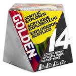 Golden 14 Acrylic Explorer Set