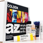 Golden A-Z & Explorer Acrylic Paint Sets
