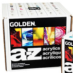 Golden A-Z Acrylic Paint Full Set of 30