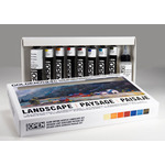 Golden Open Acrylic Set of 8 22 ml Tubes - Landscape Colors