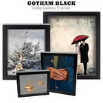 Gotham Black Gallery Deep Frames