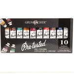 Grumbacher Pre-Tested Oil Color Set of 10