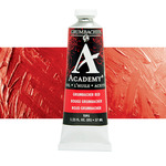 Grumbacher Academy Oil Color 37 ml Tube - Grumbacher Red