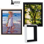 "Illusions Floater Canvas Frames 1 1/2"" Deep"