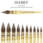 Isabey Series 6234 Siberian Blue Squirrel Quill Mop Brushes