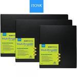 Itoya Art Profolio Multi-Ring Mini Refillable Presentation Binders