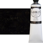 Gamblin Artist's Oil Color 150 ml Tube - Ivory Black