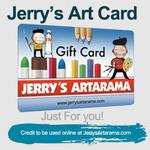 Jerry's Art Card eGift Card