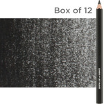 Jerry's Artarama Jerry's Jumbo Jet Pencil Box of 12 - Black