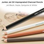 Jerry's Jumbo Jet Oil Impregnated Charcoal Pencils
