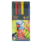 Sakura Koi Brush Markers Set of 6