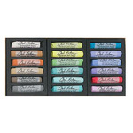 Jack Richeson Handmade Soft Pastels Set of 18 - Landscape Colors