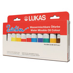 LUKAS Berlin Water-Mixable Oil Colors Selection Set of 10