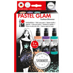 Marabu Fashion Shimmer Spray Pastel Glam Set 100ML - Assorted Colors