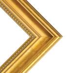 "Charleston 2"" Wood Frame with acrylic glazing and cardboard backing 24x36"" - Gold"