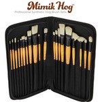 Mimik Hog Professional Synthetic Hog Bristle Brush Sets