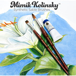 Mimik Kolinsky Synthetic Sable Brushes and Sets