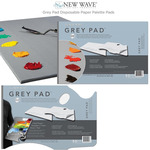 New Wave Neutral Grey Pad Disposable Paper Palette Pads