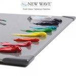New Wave Posh Glass Tabletop Palettes
