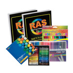 Oodles of Paper Kids Art Pastel & Marker Set