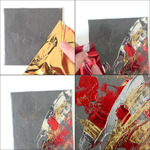 Pebeo Mixed Media Gedeo Mirror Effect Metal Leaf and Relief Gilding Paste