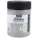 Pebeo Studio Acrylics Dark Neutral Gray 500ML