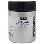 Pebeo Studio Acrylics Iridescent Silver 500ML