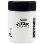Pebeo Studio Acrylics Vivid White 500ML