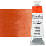 Williamsburg Handmade Oil Paint 37 ml - Permanent Red Orange