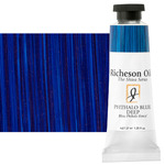 Shiva Signature Permanent Artist Oil Color 37 ml Tube - Phthalo Blue Deep