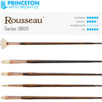 Princeton Rousseau™ Series 5800 Long Handle Natural Bristle Brushes