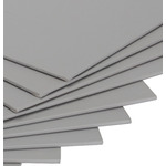 "Pro-Tones Canvas Panels Box of 12 6x12"" - Studio Grey"