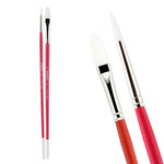 Pro White Professional Acrylic Brushes and Sets - Creative Mark