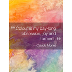 Inspirational Quote Art eGift Card - Claude Monet eGift Card