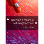 Inspirational Quote Art eGift Card - John Olsen eGift Card