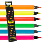 Raffine Neon Colored Pencil Set of 6