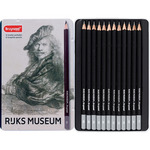 Bruynzeel RijksMuseum Graphite Pencil Tin Set of 12